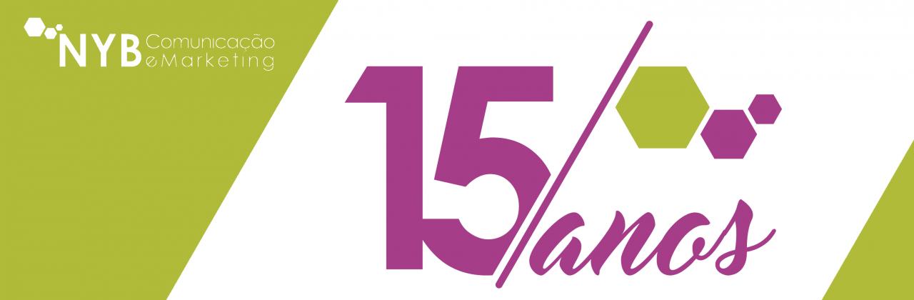 15 years NYB Comunicação e Marketing